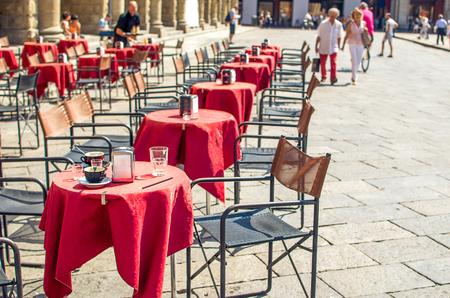 bistro: traditional Italian bistro located in Bologna, Emilia-Romagna