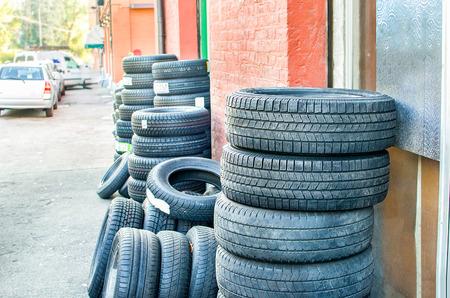 repairer: tire repairer shop