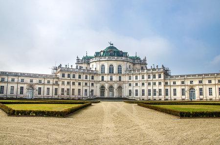 turistic: Stupinigi palace - turin - piedmont  italy region