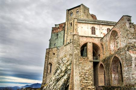 or san michele: Sacra di San Michele - Avigliana - Turin - monastery Italy