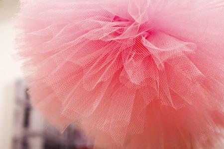 pompon: pompon pink background  texture Stock Photo