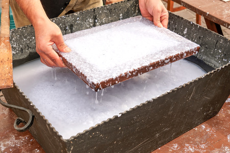 old papermaking craft