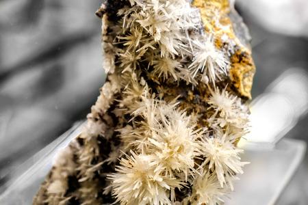 aragonite: aragonite cupriferous mineral Stock Photo