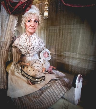 old scary nanny crone evil