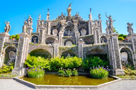 Palazzo Borromeo gardens - Lake Maggiore, Stresa - Italy