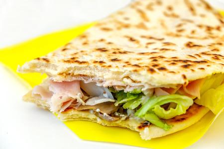 piadina romagnola italian flatbread