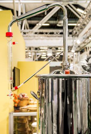 distiller tank extractor factory Imagens