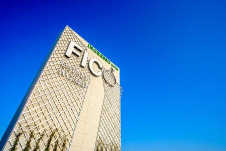 Entry of Fico Eataly World in Bologna, Italy, 19 Nov 2017