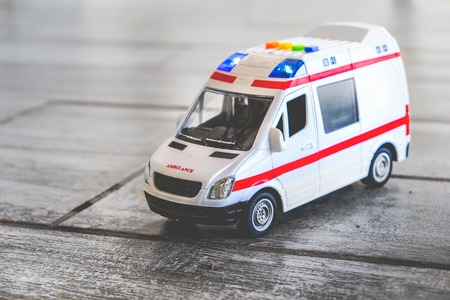 ambulance background toy medical health care vehicle sirens blue lights