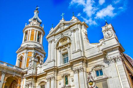 Loreto church Basilica Della Santa Casa Ancona Marche region Italy