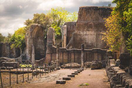 Villa Adriana in Tivoli - Rome province - Italy