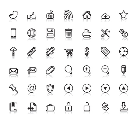 thumps up: Social Web Icons