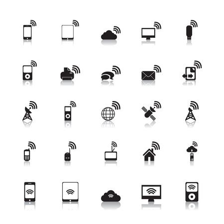 point chaud: Wireless Hotspot Ic�nes