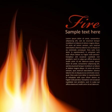 bbq background: Fire background Text Design