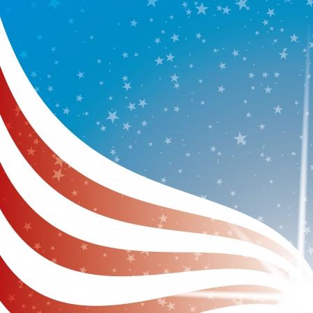 american election: United States Flag background  Illustration