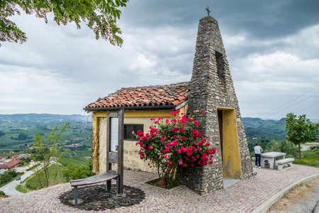 the church of Saint Francesco in La Morra in Piedmont