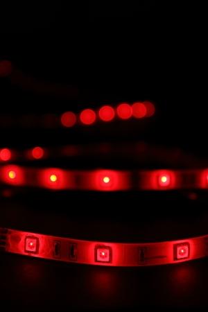 red LED strip Фото со стока - 14511867