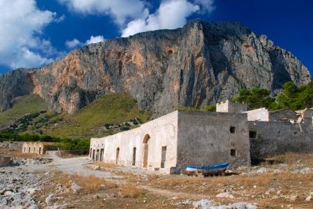 Sicily seascape, Tonnara del Secco