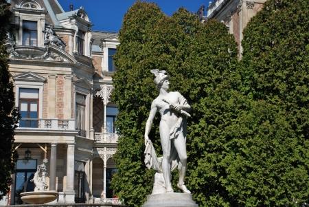 franz: Hermes statue, Hermesvilla, Vienna