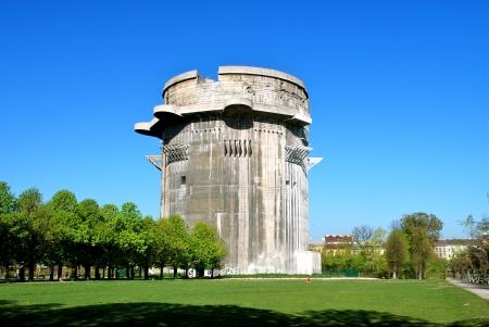 flak: Flak tower G, antiaircraft shelter, Vienna