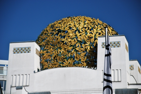 Detail of Secession hall, Vienna Editorial