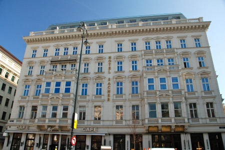 Hotel Sacher in Vienna Stock Photo - 15854869