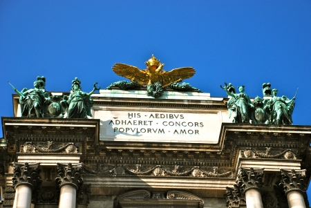 Double headed imperial eagle, Hofburg, Vienna