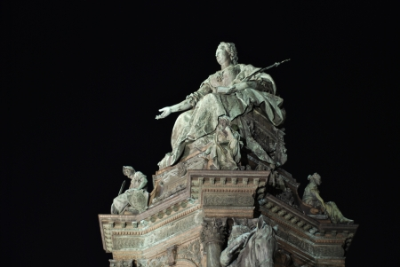 Maria Theresia monument, Vienna