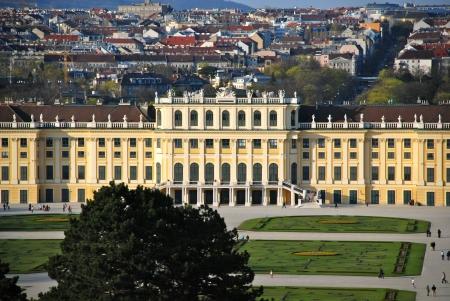 Schonbrunn Castle, Vienna, Austria Editorial