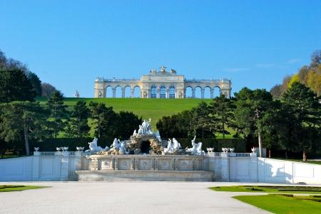 Gloriette, Schonbrunn park, Vienna Editorial