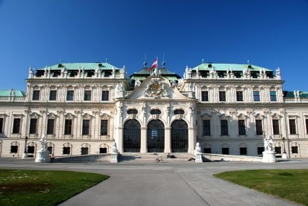 Upper Belvedere castle, Vienna Editorial