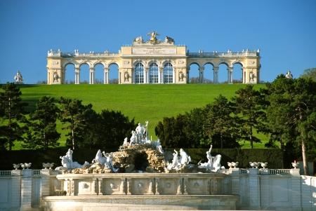 wiedeń: Gloriette, Schonbrunn park, Wiedeń