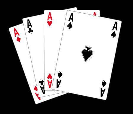 poker cards, illustration illustration