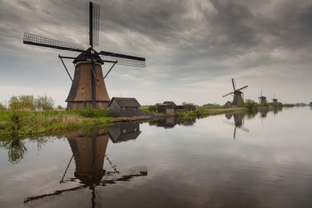 Dutch windmill Stock Photo - 14714547