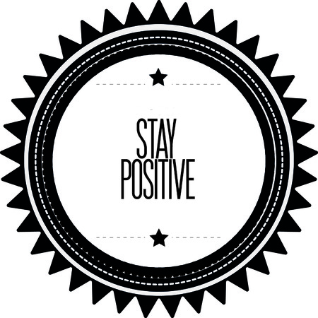positief: Blijf positief