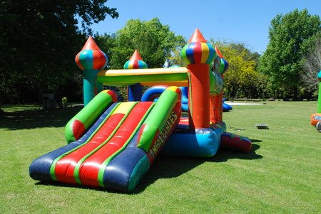 inflatable: inflatable castles