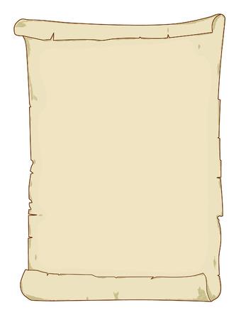 hebrew bibles: Vintage scroll  Illustration