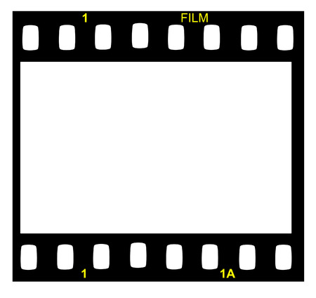 Film strip - vector image