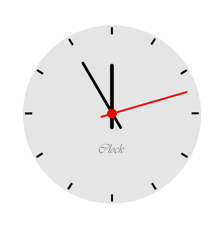 watchmaker: Modern clock face    Illustration