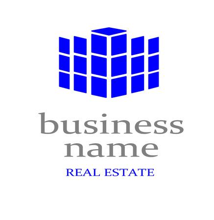 Logo real estate Stock Vector - 23079815
