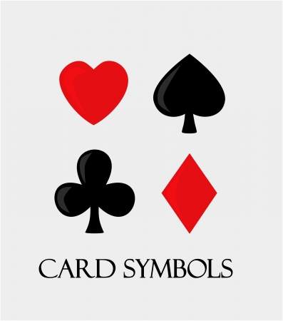 Vector card symbols Stock Vector - 23079909