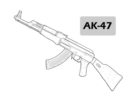 munition: Automatic machine AK-47