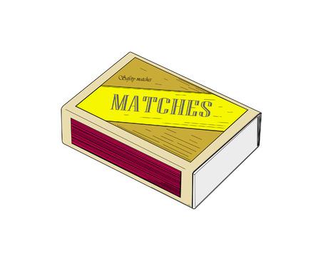 caja de cerillas: Caja de cerillas de colores