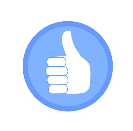 big toe: Like icon