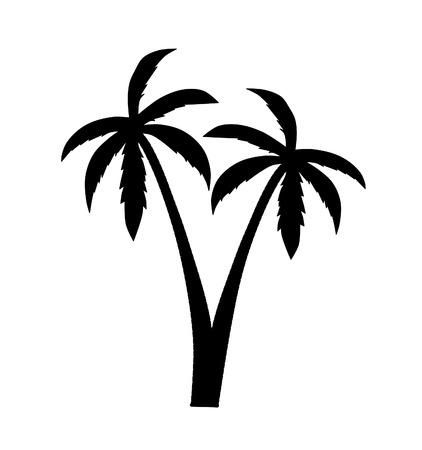 liana: Palm silhouette