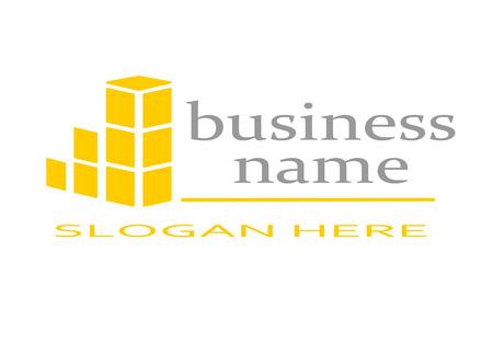 logo batiment: Logo immobilier Illustration