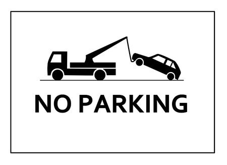 No parking Vector