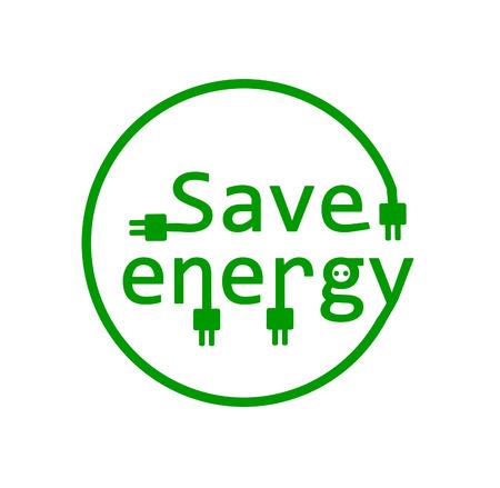 eco slogan: Ahorro de energ�a