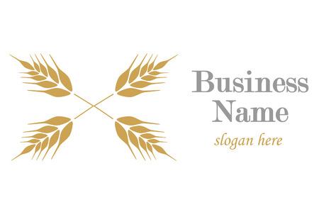 rigorous: Logo with ear of wheat