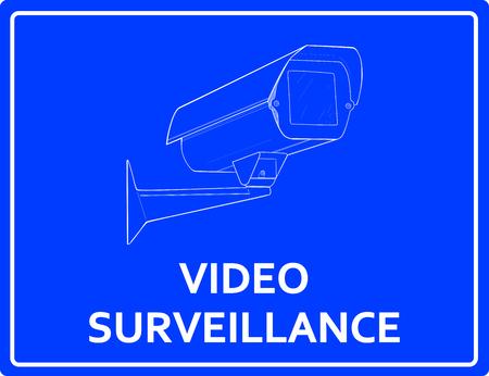 observations: Video surveillance sign